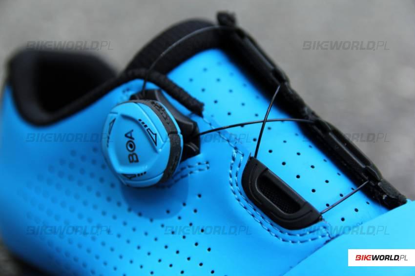 246d847d9 Druga najważniejsza cecha konstrukcji modelu Velocis (wspólna dla obu  generacji buta) to system zapinania - do dyspozycji oddaje nam się jedno  pokrętło BOA ...